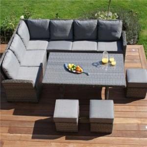polyrattan kerti bútor